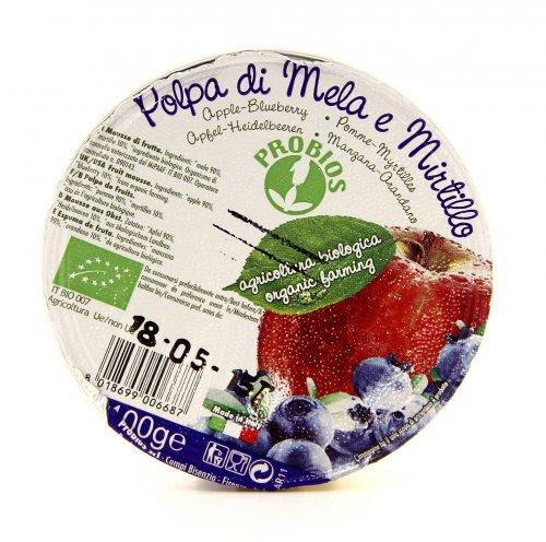 Polpa - Mela e Mirtillo