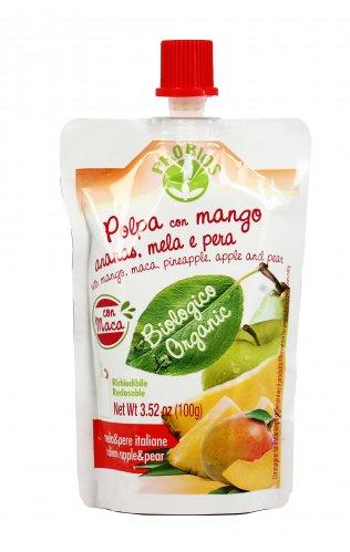 Polpa con Mango, Ananas, Mela e Pera