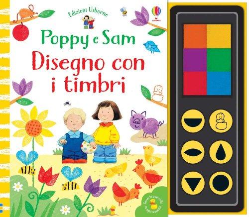 Poppy e Sam - Disegno con i Timbri