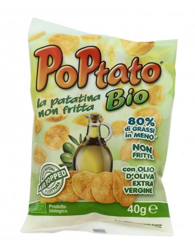 Patatine Snack Non Fritte - Poptato Bio