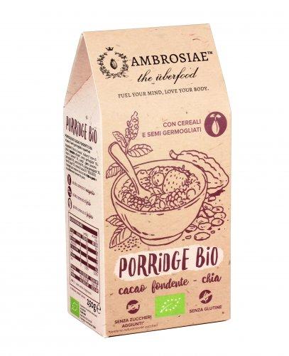 Porridge Bio - Cacao Fondente e Semi di Chia