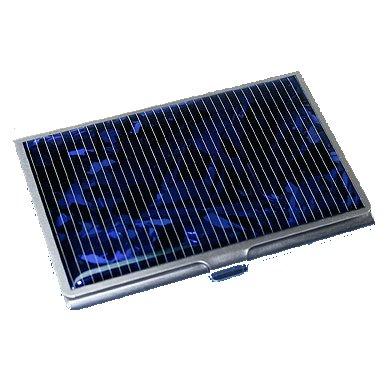Porta Biglietti da Visita con Pannello Fotovoltaico