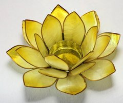 Portalumino Lotus 3° Chakra - Giallo