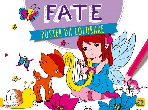 Poster da Colorare - Fate