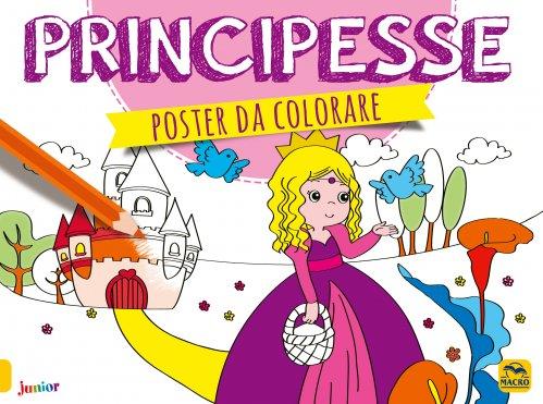 Poster da Colorare - Principesse