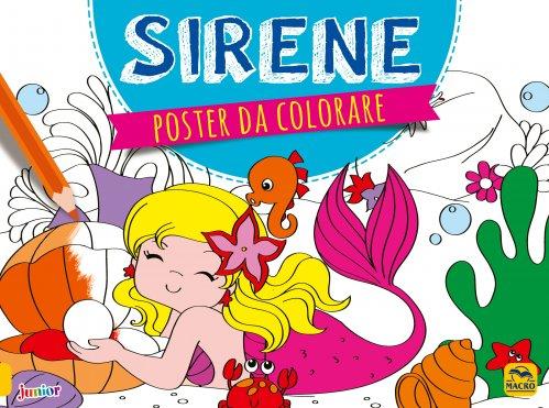 Poster da Colorare - Sirene