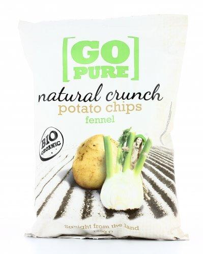 Potato Chips Fennel - Patatine Bio al Finocchio