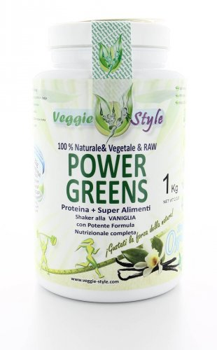Power Greens - Proteina + Superfood - Vaniglia