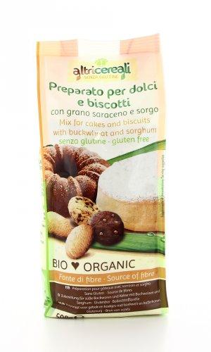 AltriCereali - Preparato per Dolci e Biscotti con Grano Saraceno e Sorgo