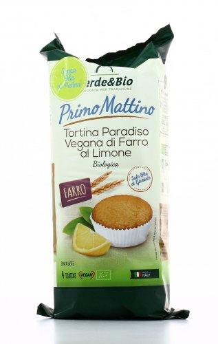 Primo Mattino - Tortina Vegan - Farro e Limone