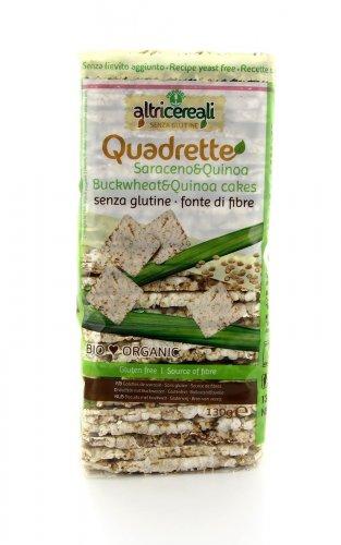AltriCereali - Quadrette di Grano Saraceno e Quinoa