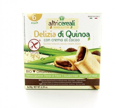 AltriCereali - Delizia di Quinoa con Crema al Cacao