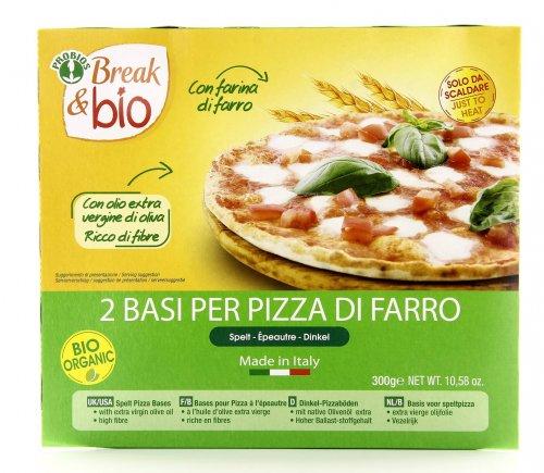 Break & Bio - Base per Pizza al Farro