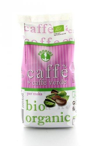 Caffè per Moka con Caffè Verde Bio