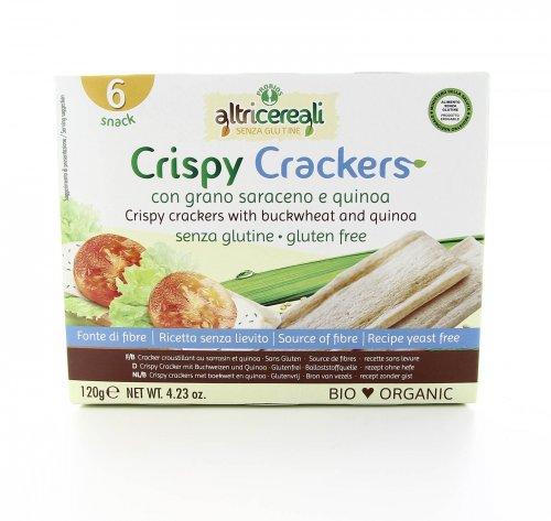 AltriCereali - Crispy Crackers con Grano Saraceno e Quinoa