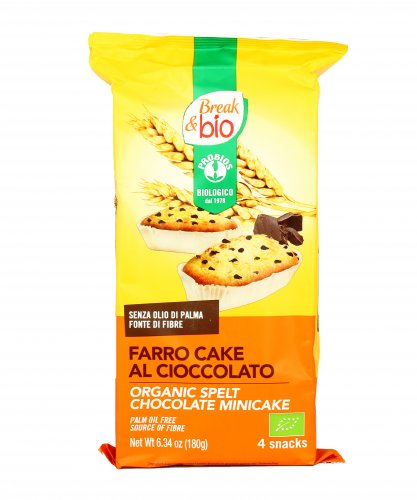 Break Bio - Farro Cake al Cioccolato