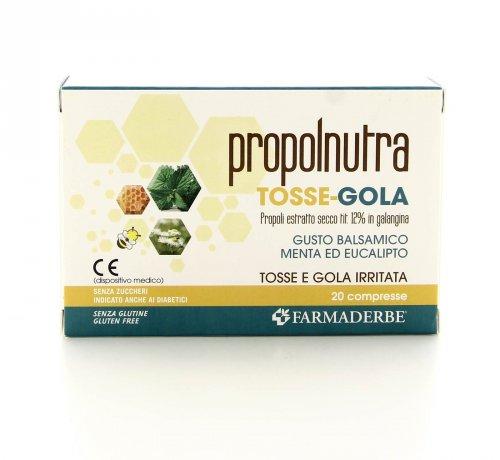 Propolnutra Tosse e Gola - Farmaderbe