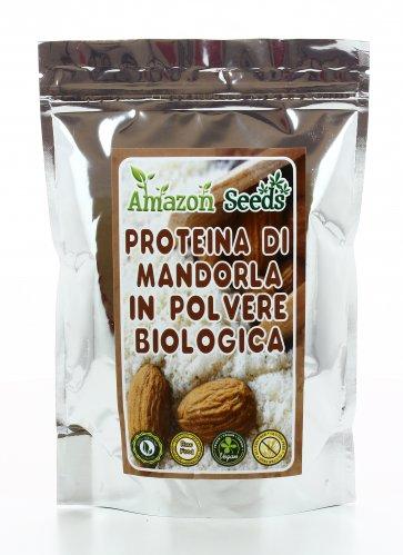 Proteina di Mandorla in Polvere Bio