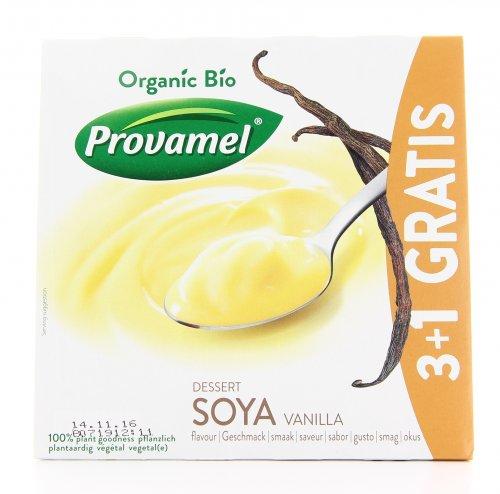 Bio Soya Dessert Vaniglia 3+1 Gratis