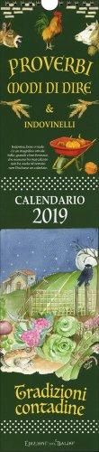 Calendario 2019 - Proverbi e Modi di Dire e Indovinelli