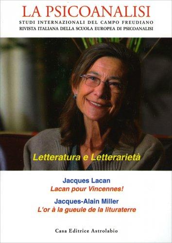La Psicoanalisi n. 62 - Letteratura e Letterarietà