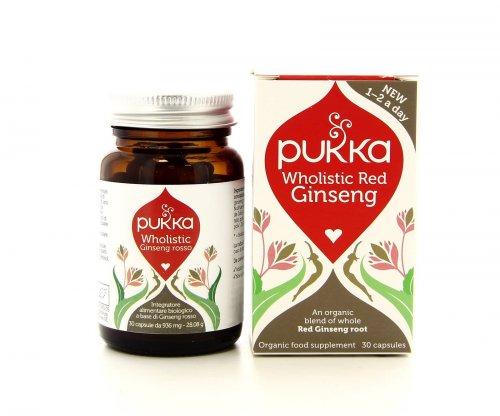 Pukka Integratori - Wholistic Red Ginseng