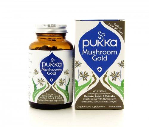 Pukka Integratori - Mushroom Gold