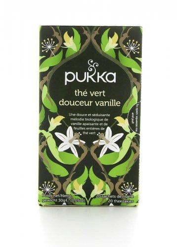 Sweet Vanilla Green - Tisana Pukka
