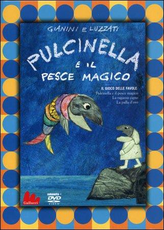 Pulcinella e il Pesce Magico (DVD+Libretto)