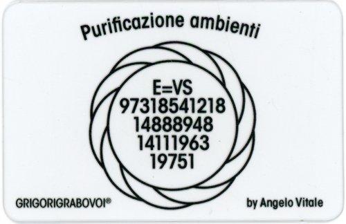 Tessera Radionica 100 - Purificazione Ambienti