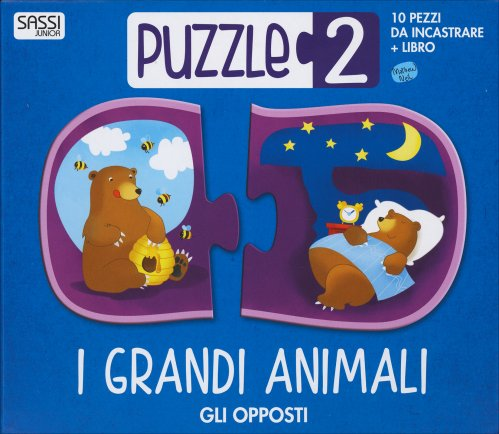 I Grandi Animali - Gli Opposti - Puzzle