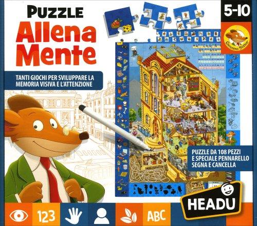 Puzzle Allena Mente - Geronimo Stilton
