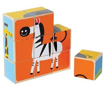 Puzzle degli Animali dello Zoo