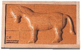 Puzzle Rilievo Cavallo
