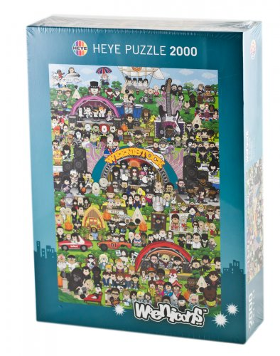 Puzzle Weenicons - 2000 Pezzi