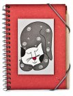 Quaderno Spirale i Gatti di Nic Rosso con Penna