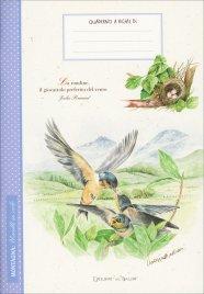 Montagna: Uccelli in Volo - Quaderno a Righe