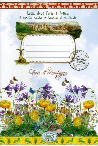 Quaderno da Zaino - Fiori di Montagna