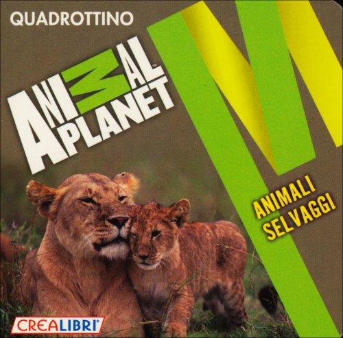 Quadrottino: Animali Selvaggi - CreaLibri