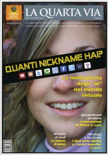 La Quarta Via n. 92 - Settembre 2012