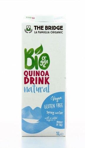Bevanda Vegetale a base di Quinoa e Riso-Bio Quinoa Drink Natural