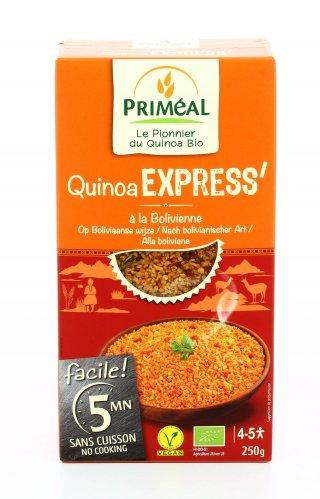 Quinoa Express alla Boliviana