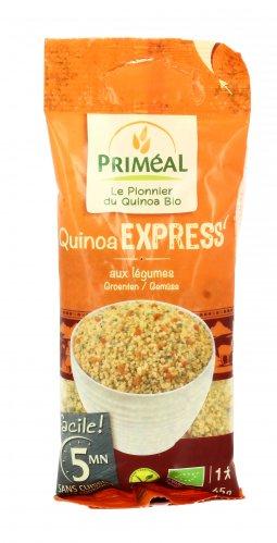 Quinoa Express con Verdure
