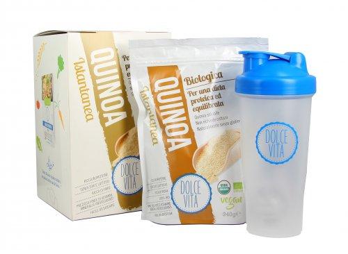 Quinoa Istantanea Solubile Bio+ Shaker in omaggio