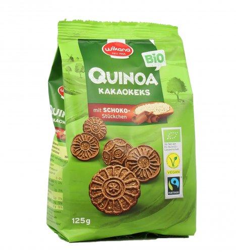 Biscotti al Cacao con Quinoa e Gocce di Cioccolato