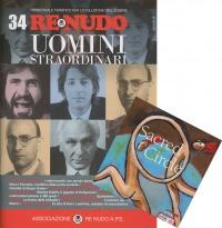 Re Nudo 34 - Uomini Straordinari con CD Allegato