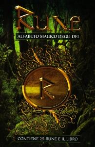 RUNE - ALFABETO MAGICO DEGLI DEI Contiene 25 rune e il libro di Laura Tuan