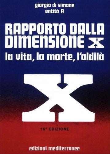 Rapporto dalla Dimensione X - con CD audio