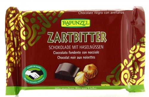 Cioccolato Fondente con Nocciole Intere