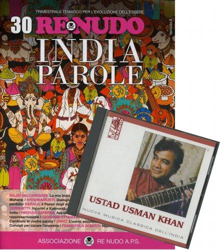 Re Nudo 30 - India Parole con CD Allegato